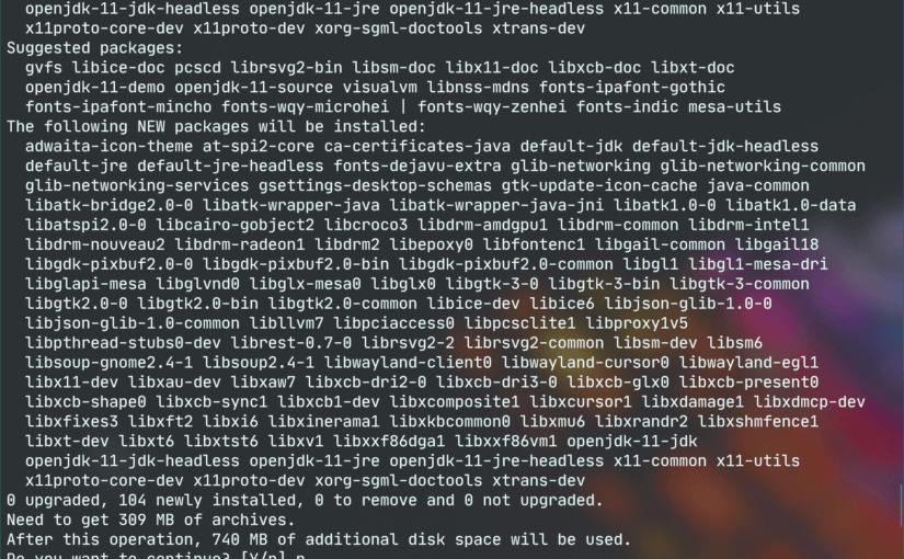 在Debian/Ubuntu中配置Tomcat 9